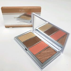 PUR 4-in-1 Skin-Perfecting Powders Face Palette